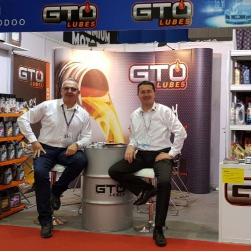 GTO LUBES on Asia's largest trade fair for automotive parts, accessories, equipment and services